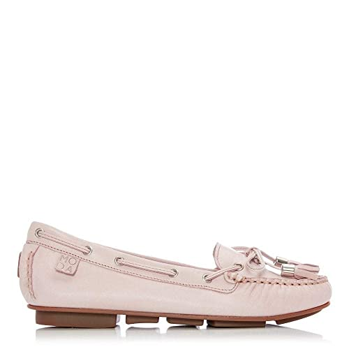 4114e530feb Moda In Pelle Arcade Light Pink Leather  Amazon.co.uk  Shoes   Bags