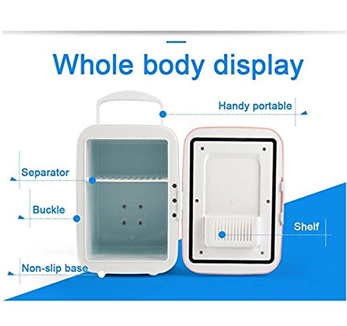 Compra SL&BX Coche compacto-refrigeradores, Mini nevera refrigerador y calentador portátil nevera eléctrica para coche travel eco amigable 12v 4l de ...