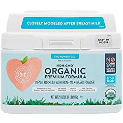 The Honest Co. Organic Non-GMO Premium Infant Formula, 21 Ounce