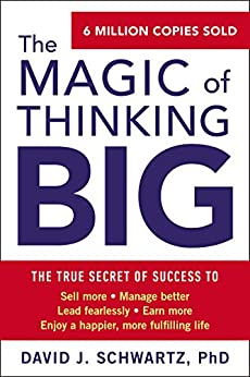 Life Changing Books About Personal Development - magic of thinking big