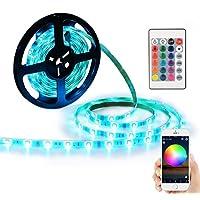 YIHONG LED Light Strip RGB Strip Lights LED Tape Lights...