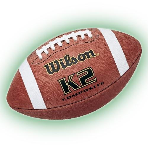 Wilson K2 Composite Football - K2 Leather Football