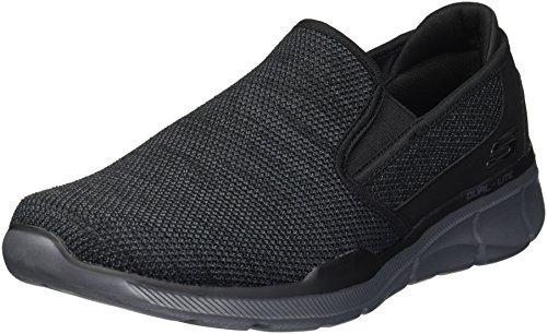 Sumnin Skechers 3 Equalizer sin para Negro Zapatillas Cordones 0 Hombre Carbón xBBtwqpPrn