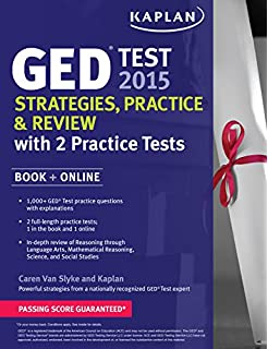 How hard is the math, science, and social studies portion of the GED test?