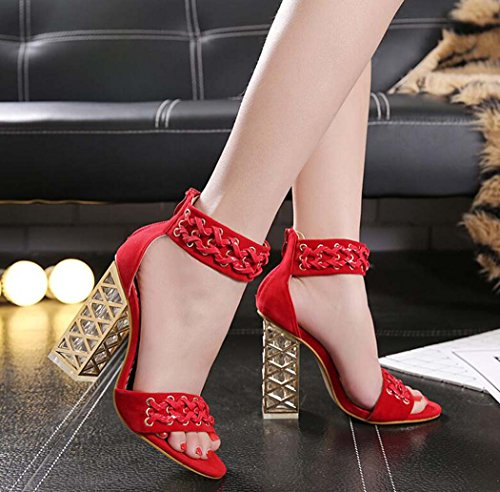 de Mujeres para Sandalias Tac Zapatos t1nfA77q0x