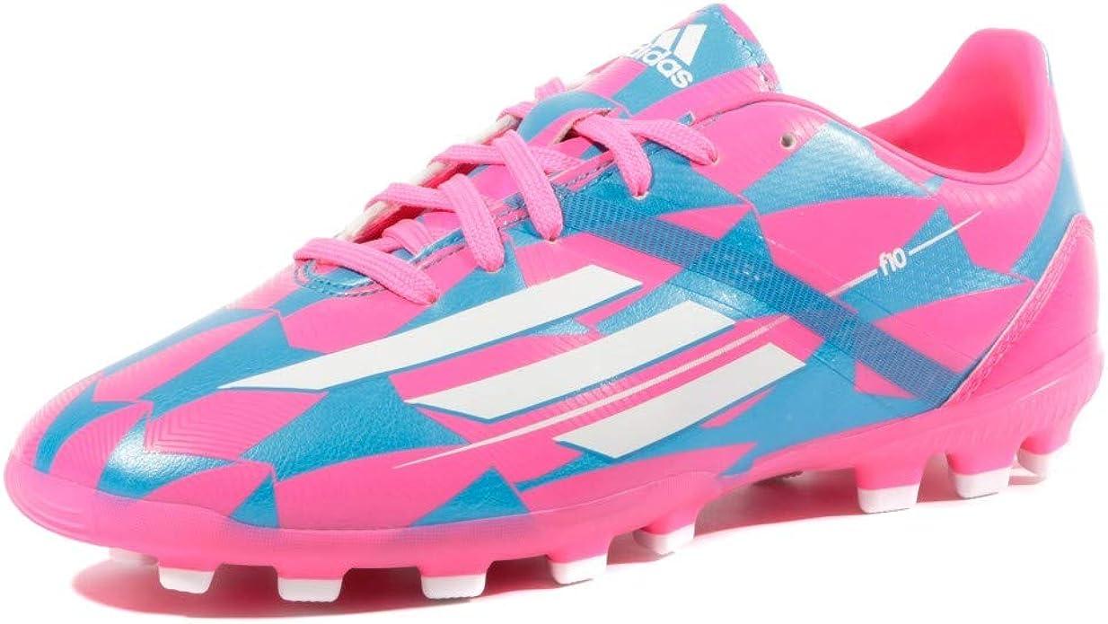 adidas Bota Jr F10 TRX AG Solar pink-Solar blue