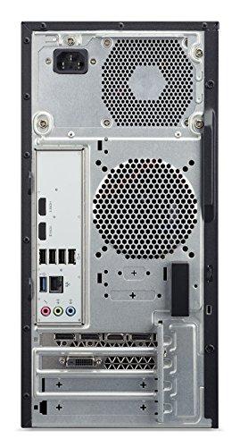 Acer Aspire GX-781 Desktop con Processore Intel Core i7-7700, RAM 16GB, HDD 1TB +128GB SSD, DVD, Scheda Grafica Nvidia GTX 1060 3GB, USB KB&M, Nero