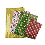 NICEXMAS Christmas Gift Bags in 4 Sizes and 4