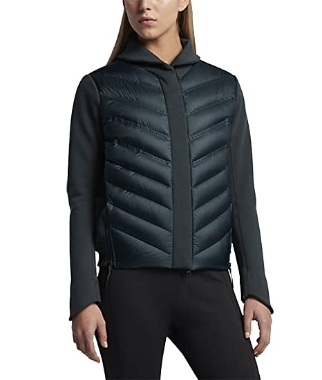 e9081d1782d7 Nike Sportswear Tech Fleece AeroLoft Women s Down Bomber at Amazon ...