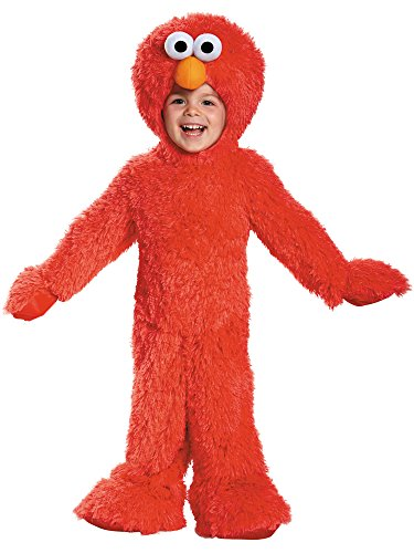 (Elmo Extra Deluxe Plush Costume, Small (2T))