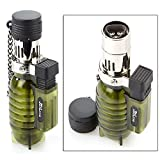 JetLine 47-200 Triple Flame Torch Lighter (Army Green)