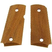 Detonics Checkered Walnut Grips