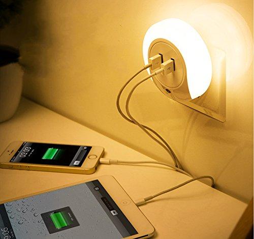 IREALIST Night Light Charger Sensor