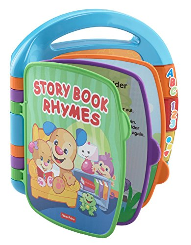 51CiSXlsTwL - Fisher-Price Laugh & Learn Storybook Rhymes Book