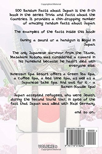 500 random facts about japan trivia and facts about the countries