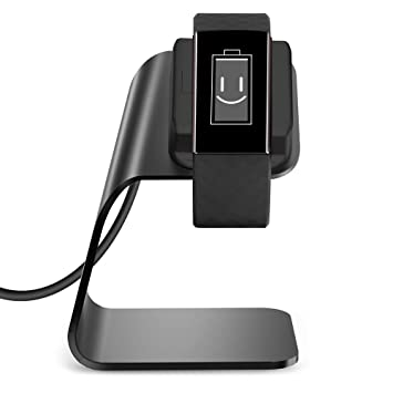 KIMILAR Compatible con Fitbit Charge 3 Cargador, (150cm/4.93ft) Aleación de Aluminio Base de Carga USB para Fitbit Charge 3 & Special Edition Fitness ...