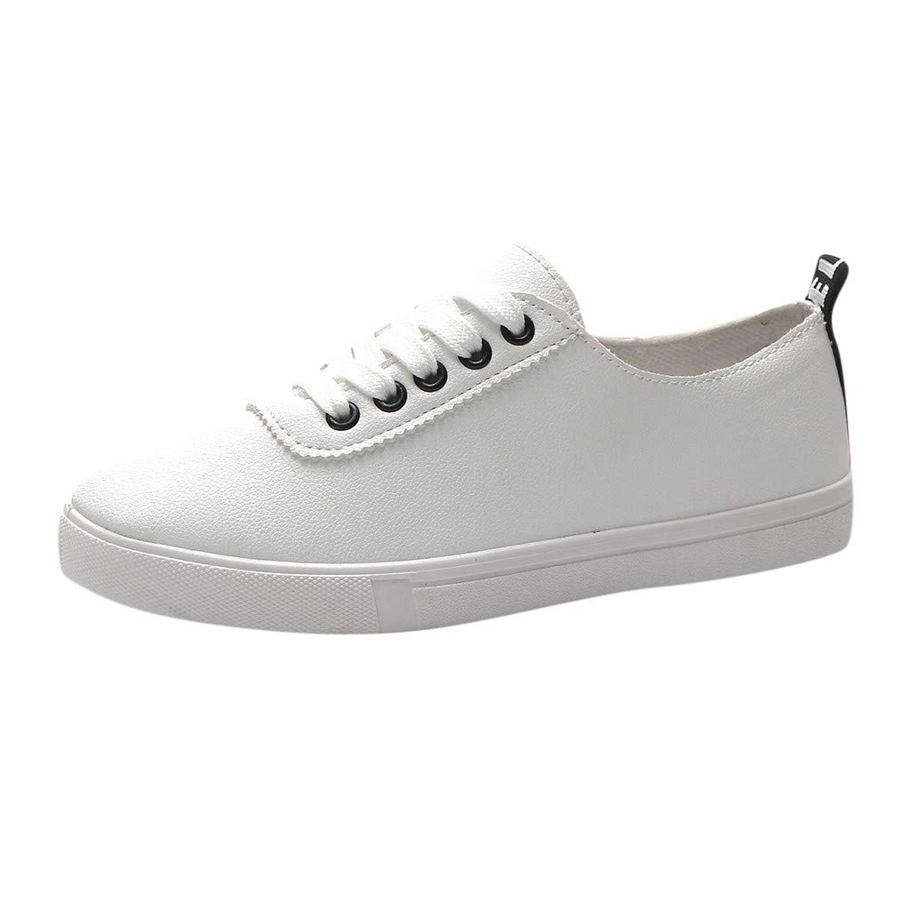 250f9cec9b9d Red Ta Spring Summer White Shoes Women flat Leather Shoes Board Casual Shoes  Sneakers  Amazon.com  Grocery   Gourmet Food