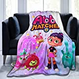 BEEPBOOP A-Bby H-Atcher Blanket Girls Ultra-Soft