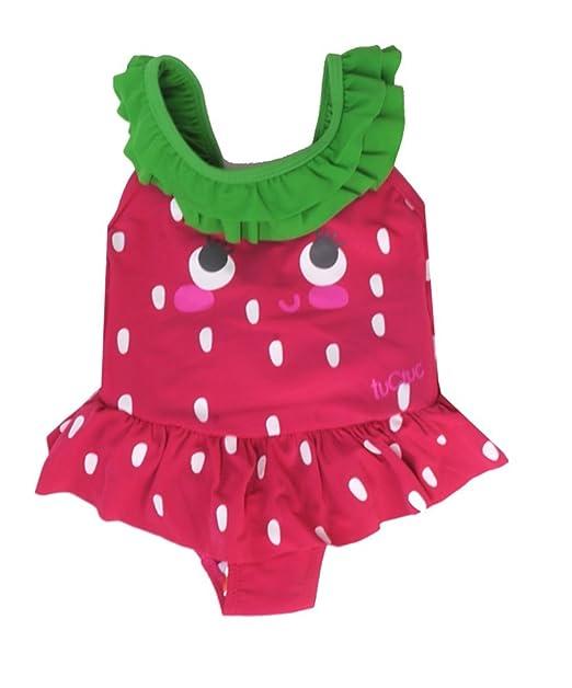 Amazon.com: Tuc Tuc Fresa 1pc traje de baño, 12 meses, Rojo ...