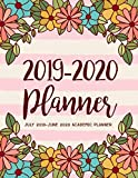 July 2019-June 2020 Academic Planner: 2019-2020 Two Year Daily Weekly Monthly Calendar Planner For To do list Planners & Academic Schedule Agenda ...   Pink Floral Design (2019-2020 planner)