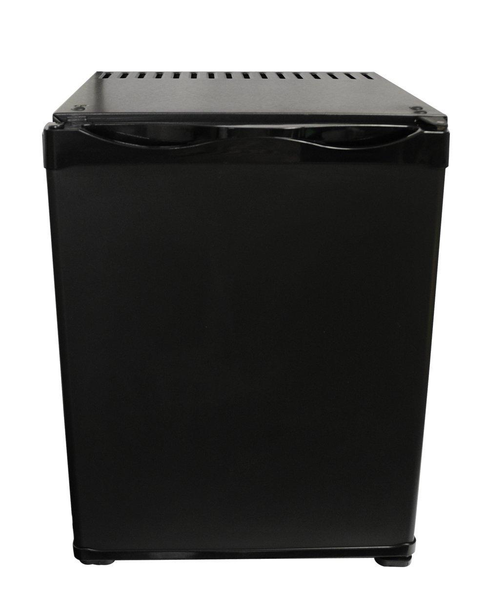 ATENARU 25リットル無音無振動小型冷蔵庫 アンモニア吸収式 クラシックブラック 左開き   B01KT480W6