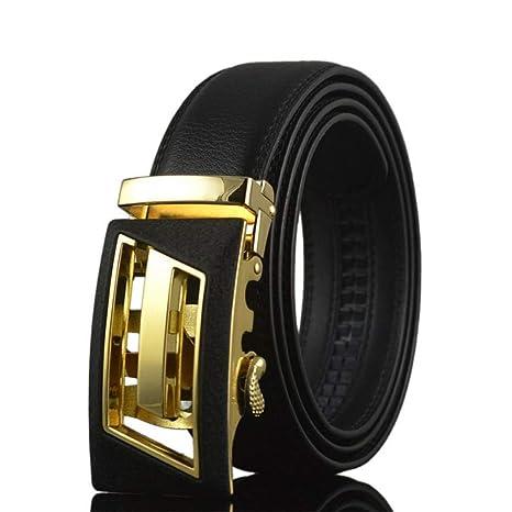 Cintura da uomo con fibbia automatica Cinturino vita Cinturini da uomo