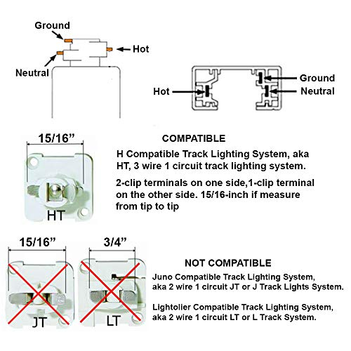 Direct-Lighting 50007 White Universal Line Voltage Track Lighting Head by Direct-Lighting (Image #1)
