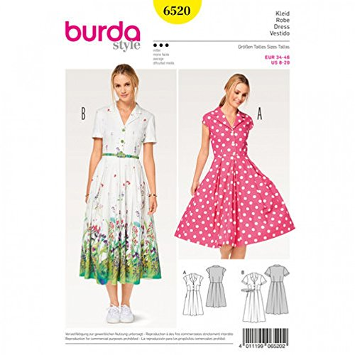 burda dress sewing patterns - 8