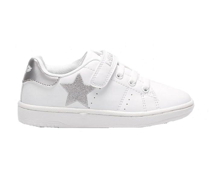 Scarpe Kids Sneakers Pelle Bianco LK5816-AA57 Lelli Kelly S9rYUrh7