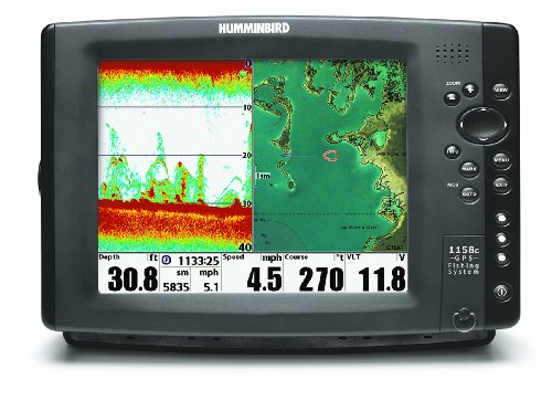 UPC 082324034916, Humminbird 407980-1 1158c Combo Fishfinder and GPS (Discontinued by Manufacturer)
