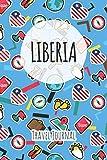Liberia Travel Journal: 6x9 Travel planner I Road trip planner I Dot grid journal I Travel notebook I Travel diary I Pocket journal I Gift for Backpacker