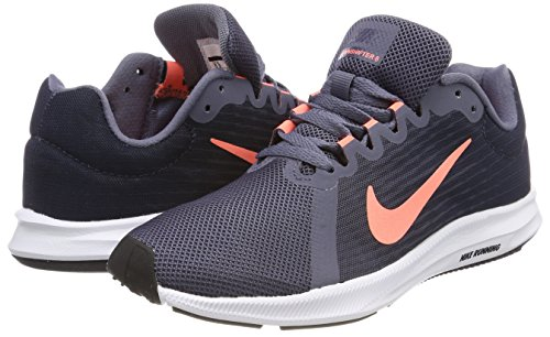 Carbon De Chaussures light Nike thunder Femme Downshifter white 8 Running Pulse 005 Multicolore Blue crimson tqE8f