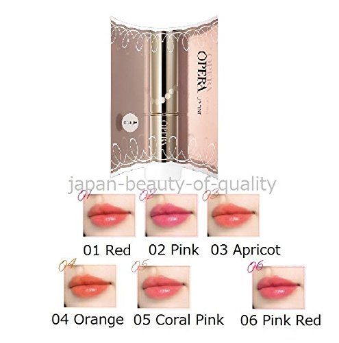 Opera Tint Oil Rouge Lip Tint Color 5 Coral Pink from Japan - Colour Tint Oil