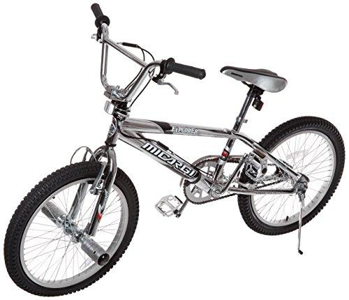 Micargi Explorer Freestyle Steel Frame Bicycle, Chrome, 20-I