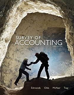 Amazon survey of accounting 9781133189121 carl s warren books by thomas edmonds survey of accounting 3rd edition 1229 fandeluxe Choice Image