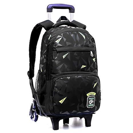 2f4cb12b13 HCC& Zaini Con Ruote Alta Capacità Salire Le Scale Trolley Schoolbag  Ultraleggero Impermeabile Zaino Della Scuola