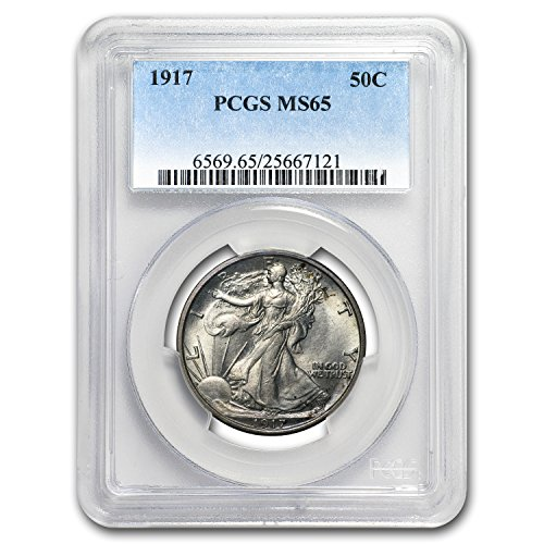 1917 Walking Liberty Half Dollar MS-65 PCGS Half Dollar MS-65 PCGS