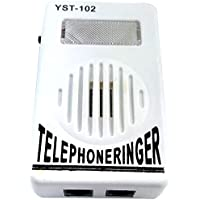 Extra-Loud Phone Telephone Tone Amplifier Strobe Light Flasher Bell Ringer