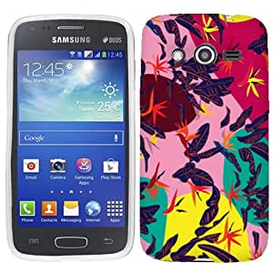 For Samsung Galaxy Avant Tropical Leaves Case Cover