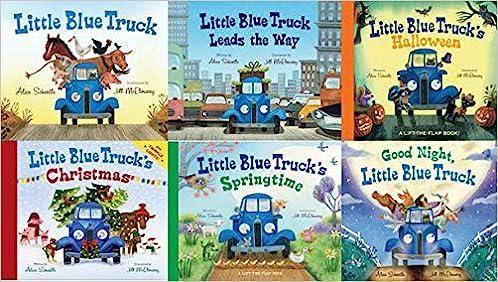 """Image result for little blue truck book set"""""""