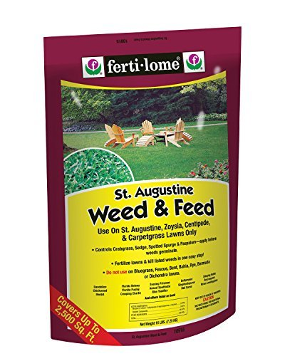DavesPestDefense Ferti-Lome St. Augustine Weed and Feed 15-0-4 16lbs (Weed And Feed For St Augustine Grass)
