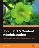 Joomla! 1.5 Content Administration Front Cover