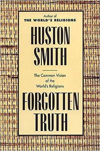 Huston Smith Forgotten Truth Pdf