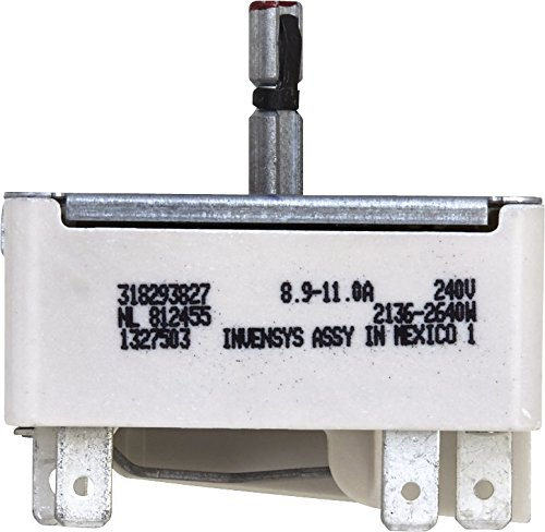 - GENUINE Electrolux 318293827 Surface Burner Switch