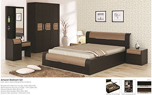 KOSMO OMEGA KING BED (BOX TYPE STORAGE): Amazon.in: Home & Kitchen