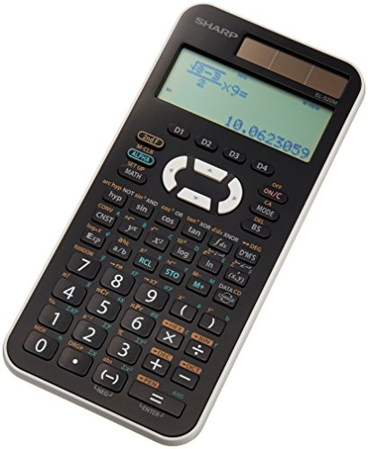 Sharp function calculator 473 function function type as input display sliding hard case type EL-520MX