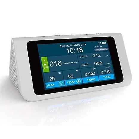 Saiko PM2.5, PM1.0, PM10, HCHO, TVOC Detector de