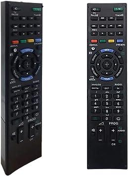 Mando a distancia Sony TV RM-ED047 para Sony Bravia Smart TV RM-ED050 RM-ED060 RM-ED061: Amazon.es: Electrónica