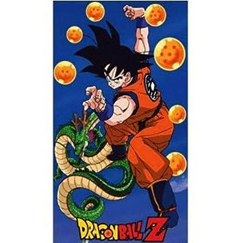 Dragon Ball Z serviette de bain Dragon balls 150 x 75 cm: Amazon.co ...