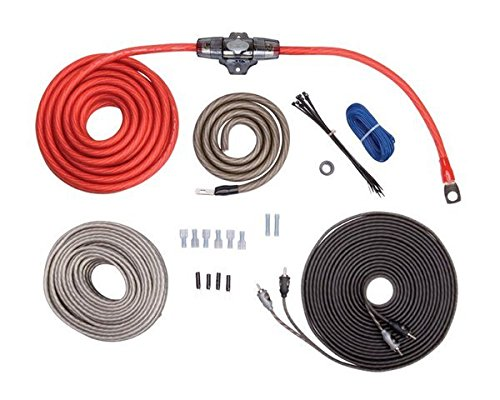 - Rockford RFK4X 4 AWG Complete Amplifier Install Kit